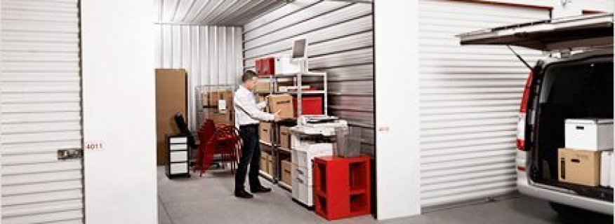 STORAGE SPACE IS MORE THAN JUNK SPACE